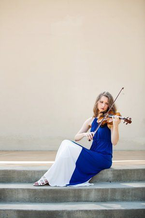 Emily Williams, violinist